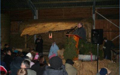 Weihnachten im Schafstall 2009